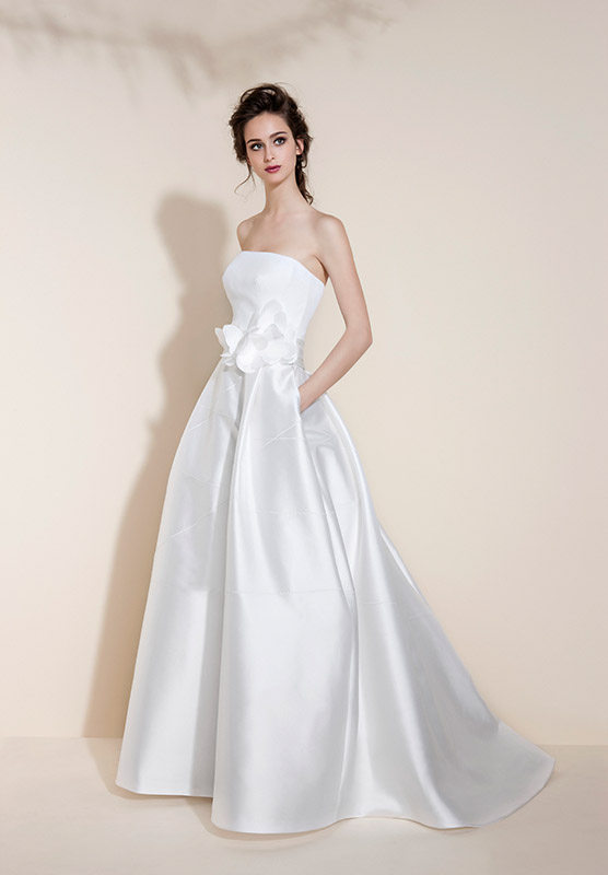 Vestito sposa 2016 TO302 collezione Tosca Look Sposa Bassano