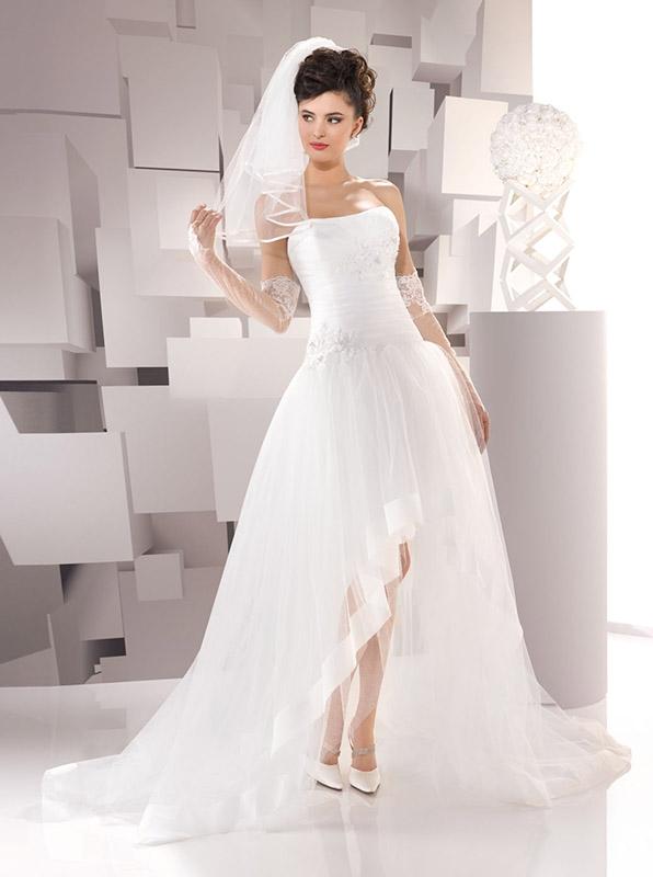 Vestito sposa asimmetrico collezione Just For You 2016