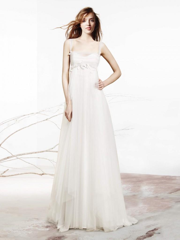 Vestiti da sposa a stile impero migliore collezione for Stile minimal vestiti