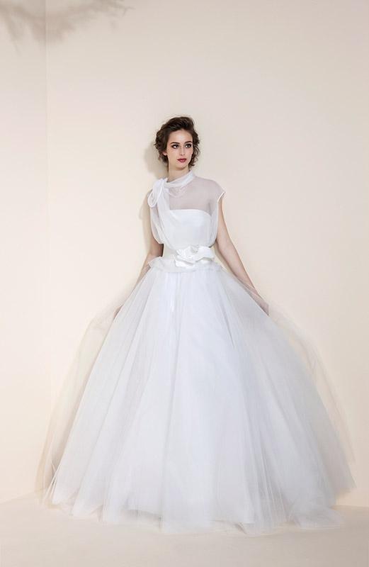 Atelier Look Sposa vestito sposa TO300 collezione 2016 Tosca