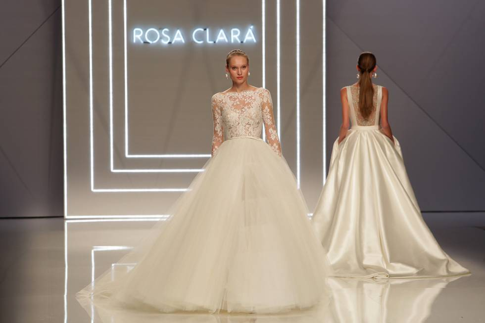 Barcelona Bridal Week tendenze 2017 abiti sposa