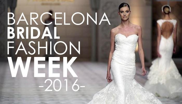 383902b28bc7 Gli abiti da sposa 2017 e le loro tendenze dalle passerelle della Barcelona  Bridal Week 2016