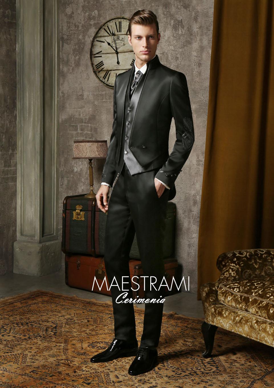Atelier Look Sposa completo sposo MC121 collezione 2016 Maestrami Cerimonia