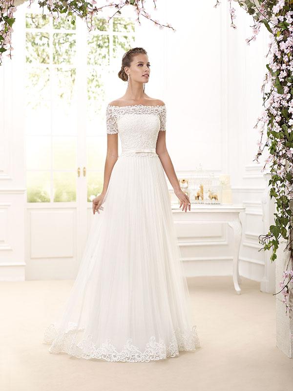 spesso Il tocco vintage negli abiti da sposa moderni del 2016 | Look Sposa JL41