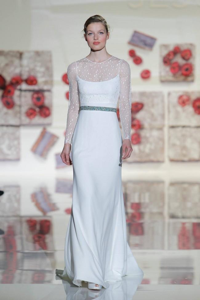 Jesus Peiro stile impero abiti sposa 2017