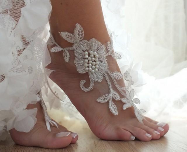 Gioielli Sposa Piedi Matrimonio Spiaggia Look Sposa