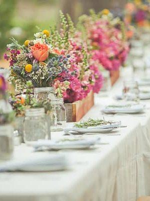 Decorazioni Matrimonio Bohemien : Un matrimonio in stile boho look sposa
