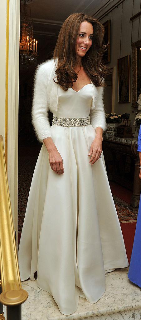SposaLook Kate Wedding Royal Secondo Abito Middleton 1clF3TJK
