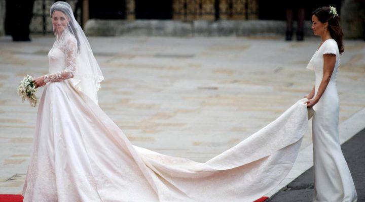 62532ac54b Royal Wedding : il secondo abito da sposa di Kate Middleton | Look Sposa